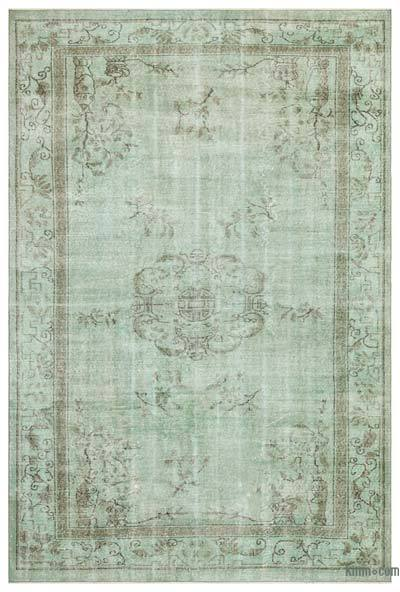 "Over-dyed Turkish Vintage Rug - 6'10"" x 10'3"" (82 in. x 123 in.)"