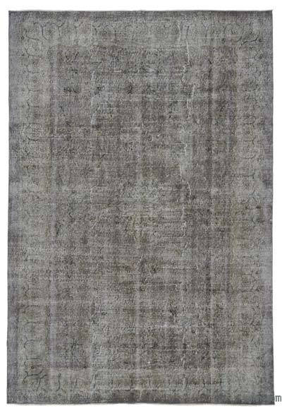 "Over-dyed Turkish Vintage Rug - 6'2"" x 9'2"" (74 in. x 110 in.)"