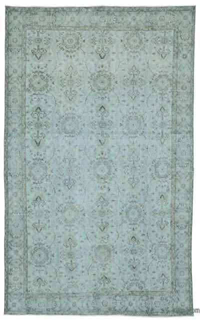"Over-dyed Turkish Vintage Rug - 5'11"" x 9'8"" (71 in. x 116 in.)"
