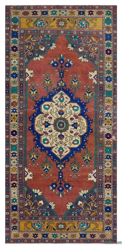 "Turkish Vintage Area Rug - 3'5"" x 7' (41 in. x 84 in.)"