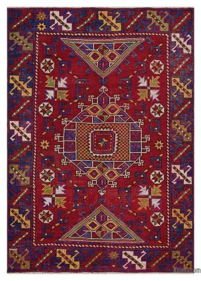"Turkish Vintage Area Rug - 4'2"" x 5'10"" (50 in. x 70 in.)"
