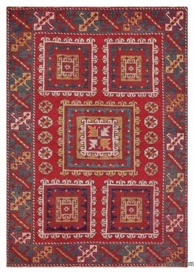 "Turkish Vintage Area Rug - 4'4"" x 6'1"" (52 in. x 73 in.)"