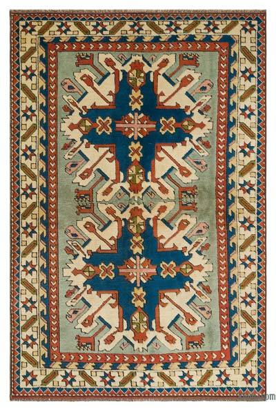"Turkish Vintage Area Rug - 4'2"" x 6'3"" (50 in. x 75 in.)"