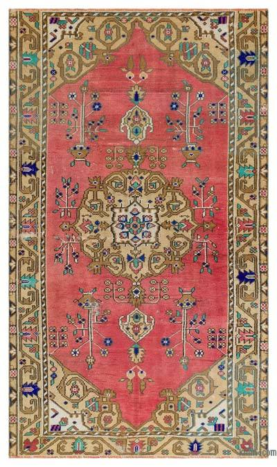 "Turkish Vintage Area Rug - 4'8"" x 7'11"" (56 in. x 95 in.)"