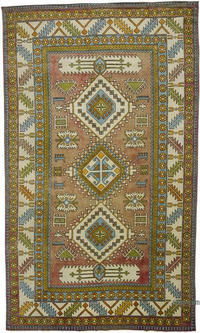 "Turkish Vintage Area Rug - 7'7"" x 12'11"" (91 in. x 155 in.)"