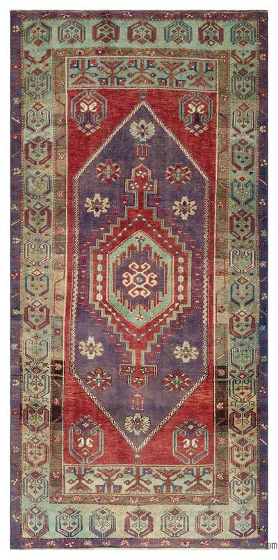 "Turkish Vintage Area Rug - 4' x 8'2"" (48 in. x 98 in.)"