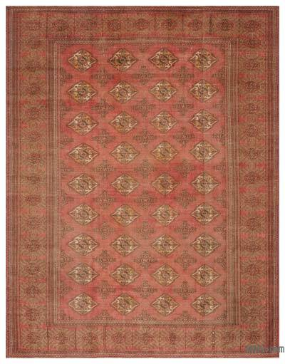 "Turkish Vintage Area Rug - 7'6"" x 9'3"" (90 in. x 111 in.)"