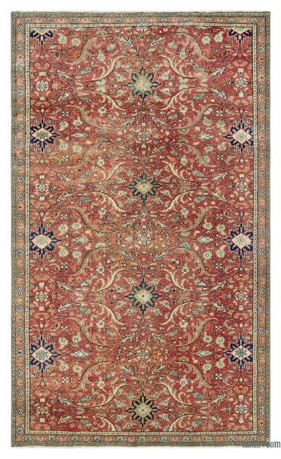 "Turkish Vintage Area Rug - 3'7"" x 6'2"" (43 in. x 74 in.)"