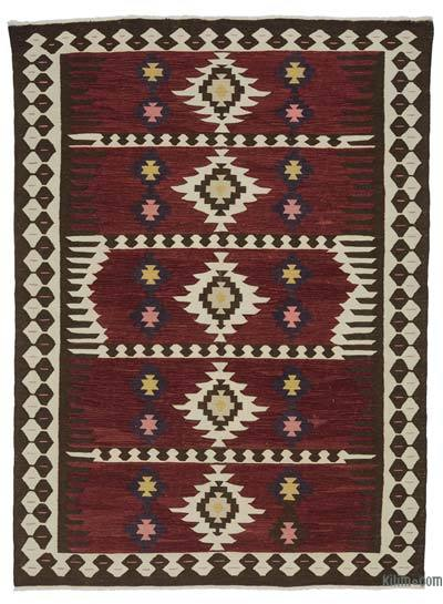 "New Turkish Kilim Rug - 5'10"" x 7'10"" (70 in. x 94 in.)"
