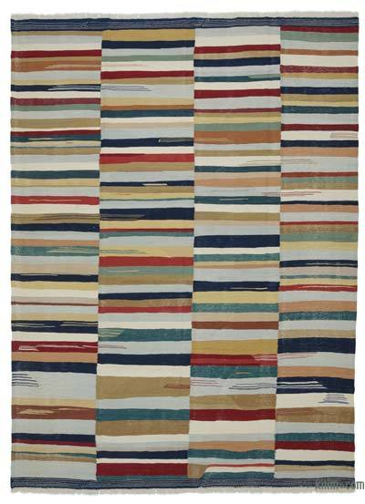 "New Handwoven Turkish Kilim Rug - 8'11"" x 12' (107 in. x 144 in.)"