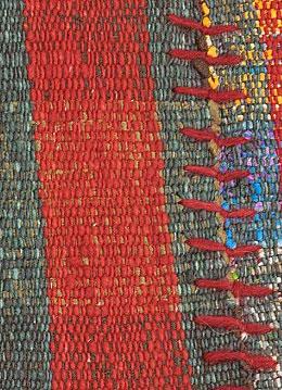 2 wing chaput pala rug detail