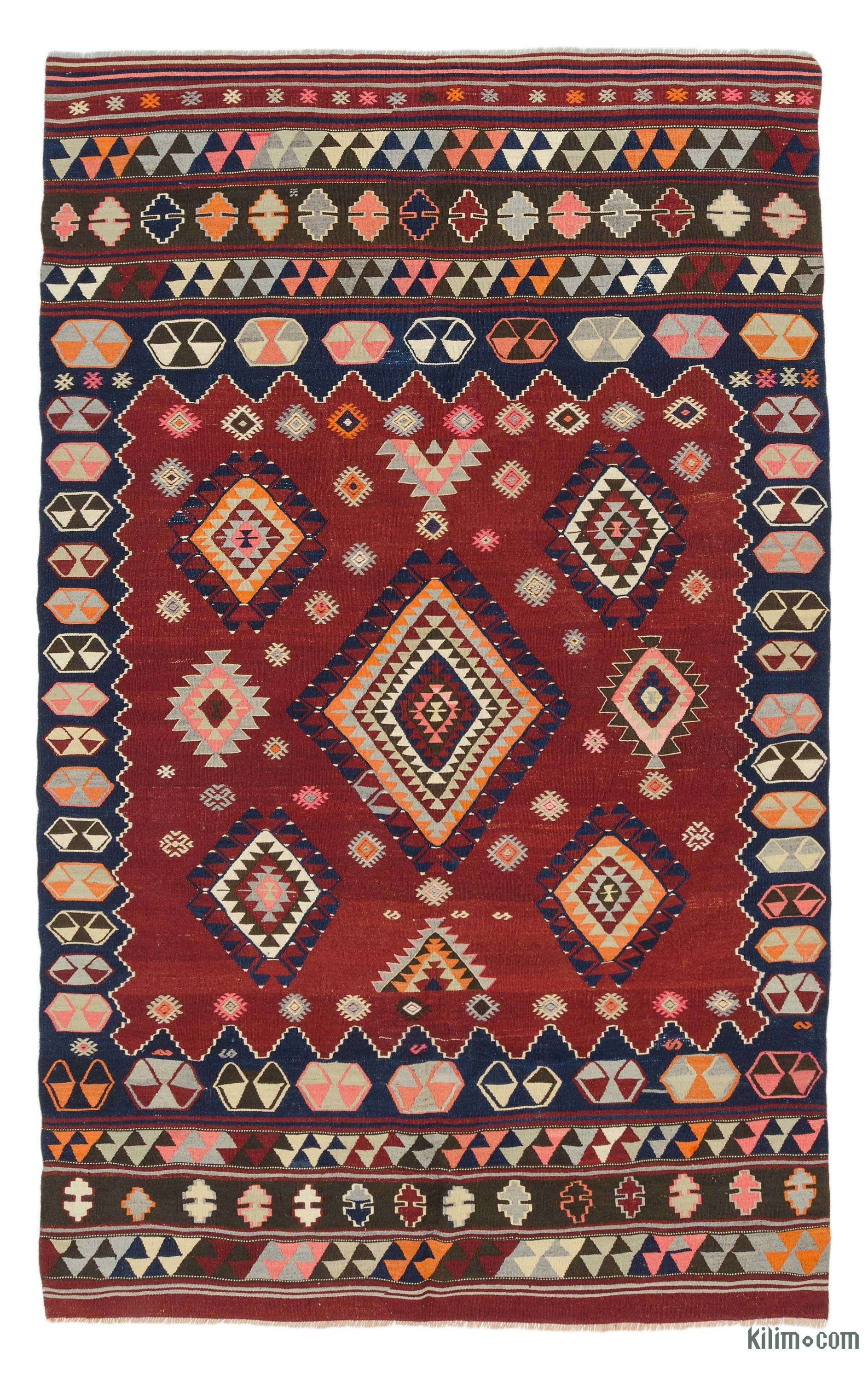 Hand-Knotted Vintage Rugs