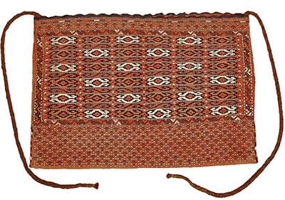 Yomut kilim chuval bag
