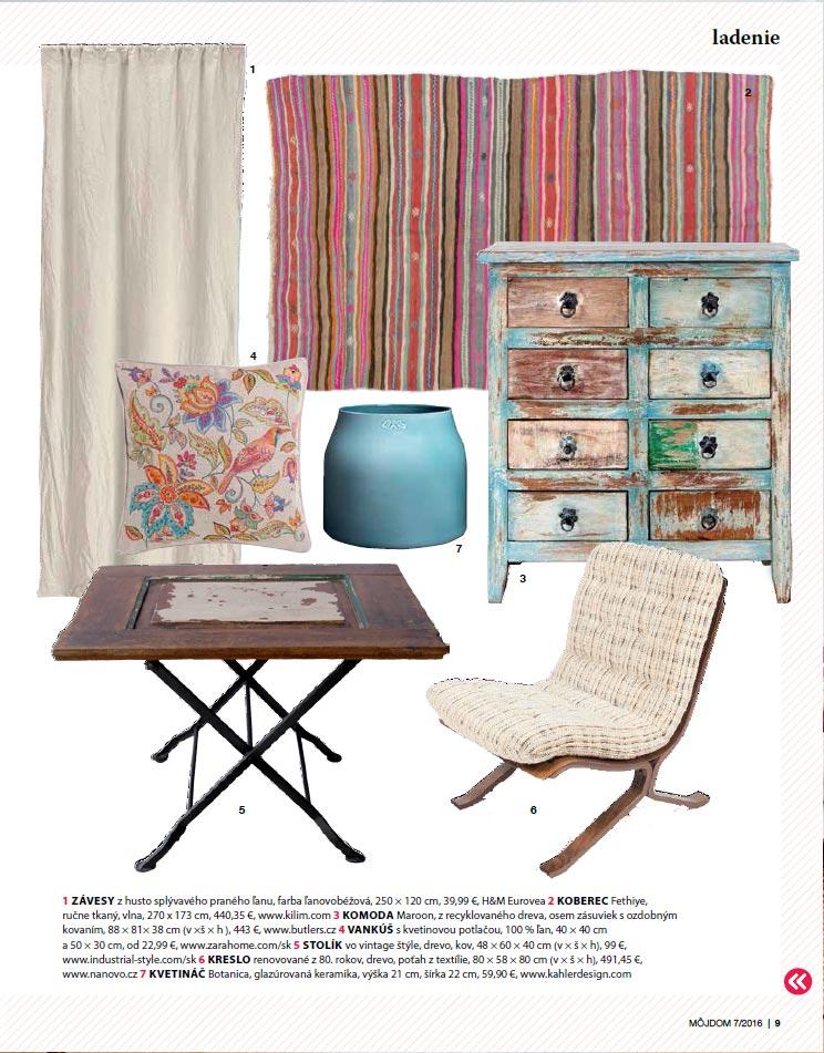 Kilim.com in Môj Dom magazine