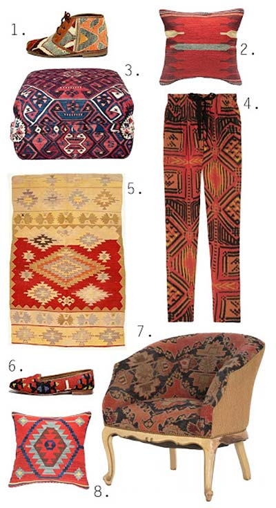 Kilim.com at Design Muse