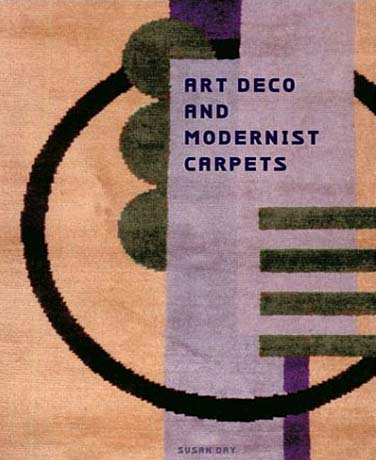 art deco and modernist carpets book cover