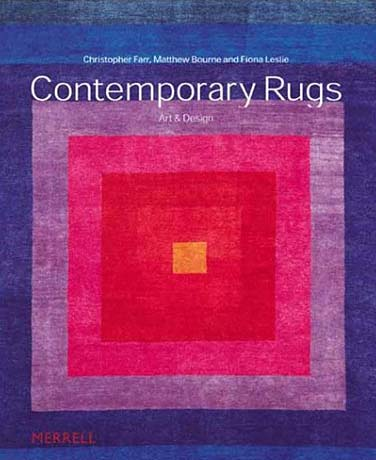 contemporary rugs: art and design book cover