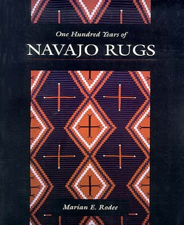 one hundred years of navajo rugs book cover