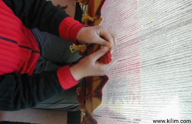 custom rug woving