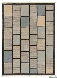 New Turkish kilim area rug