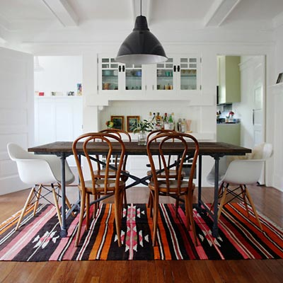 Designing With New and Vintage Rugs