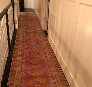S.S. Alexandria, VA, USA - Multicolor Vintage Turkish Runner Rug