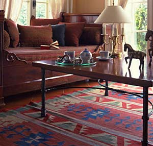 Kilim rug classic style decor