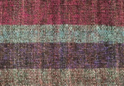 plainweave rug detail