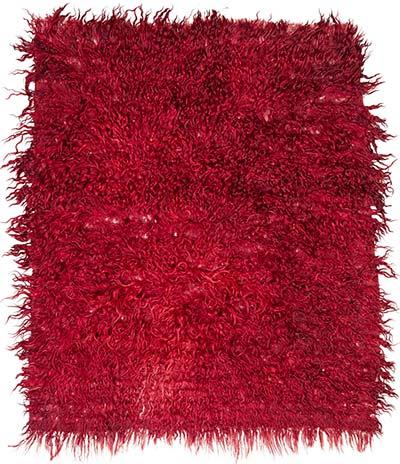 Vintage filikli tulu rug