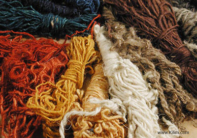 vegetable dyed wool