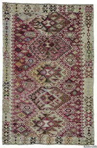 Antique Reyhanli kilim rug