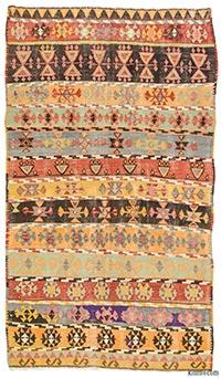 Vintage Corum kilim rug