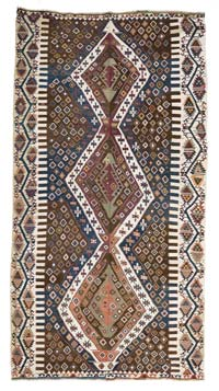 Antique Malatya Kilim Area Rug
