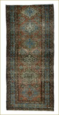 Over-dyed Anatolian Vintage Runner