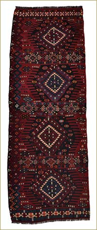 Antique Van Kilim Runner